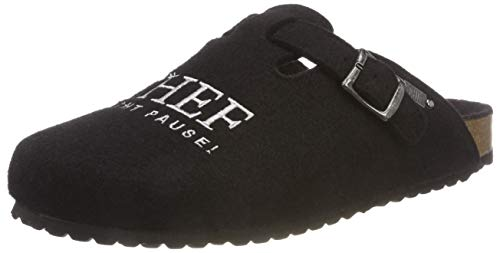 Supersoft Herren 511 078 Pantoffeln, Schwarz (Black 004), 42 EU
