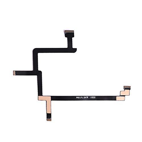Cavo Flessibile a Nastro Piatto per Telecamera cardanica Flessibile Facile da installare e Rimovibile Sostituire per Drone DJI Phantom Standard 3S Vision(Nero) Jasnyfall
