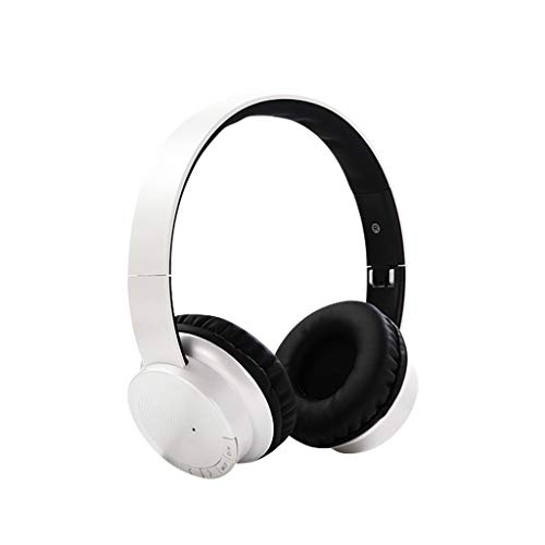 Kabelloses Headset Bluetooth 4.1 Stereo OverEar Faltbare Kopfhörer Eingebautes Mikrofon(Weiß)