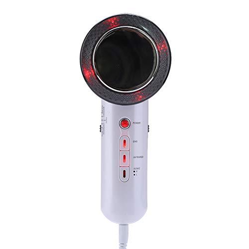 3 IN 1 Körper Abnehmen Massagegerät Schönheit Gerät, 1 Mhz EMS Infrarot Wärmetherapie Fettverbrenner Kavitation Home SPA Verwendung