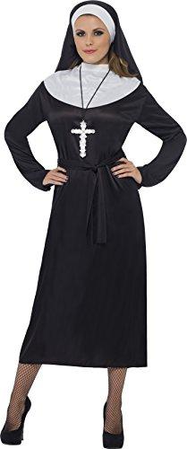 Imagen de smiffy's  disfraz de monja para mujer, talla s 20423s  alternativa