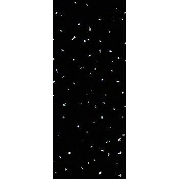 Le Revêtement Store Noir Sparkle 5 Mm Revêtement En PVC De Salle De Bain  Douche Plafond
