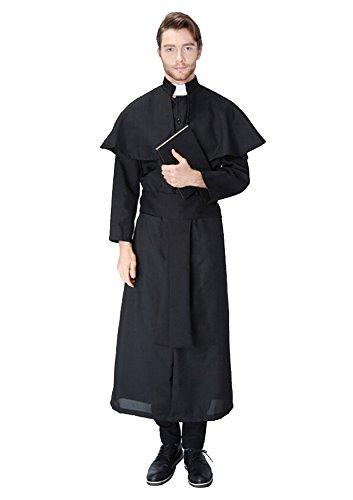 Christian Jesus Kostüm, Pfarrer Priester Herrenkostüm Pastor / Pfarrer Kostüm (Kostüme Christian)