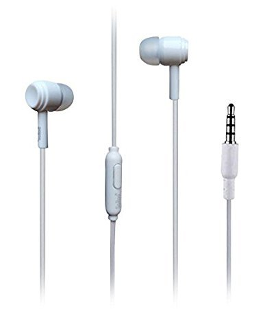 Samsung Galaxy Grand Prime Plus supported Wired Headphone/Earphone white /black In-ear call controller and Music Controller for all Smartphones by Coverkeeda  available at amazon for Rs.149