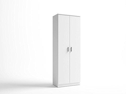 LIQUIDATODO ® - Armario zapatero moderno y barato de 60cm ancho color blanco