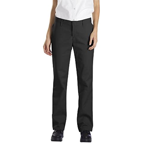 Dickies-Secondo le donne FP322 industriali Pantaloni taglio Flat Front