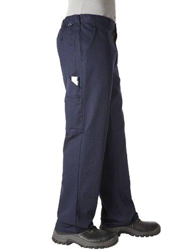 PIONIER WORKWEAR Herren Bundhose Cotton Pure in marineblau (Art.-Nr. 9391) Marine