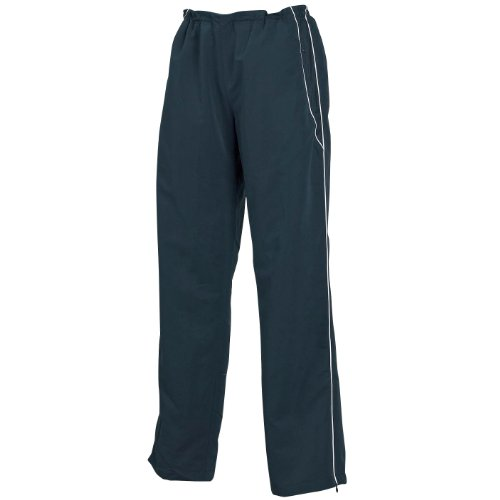 Tombo Teamsport - Pantalon de jogging - Femme Noir - Black/Black/White piping