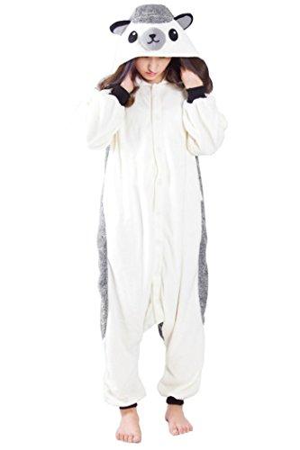r Pyjamas Cosplay Kostüme Small Grau ()