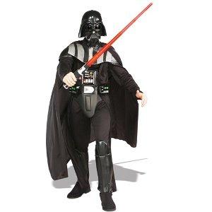 Rubie's Adult Deluxe Darth Vader Fancy Dress Costume Standard
