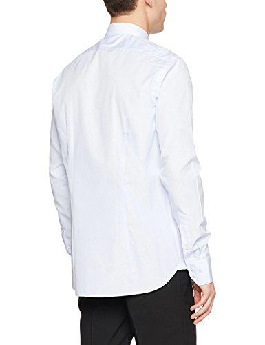 van Laack Herren Freizeithemd RET-Ltfn Weiß (Weiß 000)