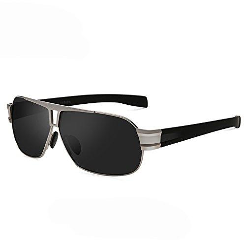 WYJL Brille Männer Fahren Sonnenbrillen Gläser / Polarisieren Spiegel Sonnenbrillen Square High-Definition-Treiber-spezifischen Fahrspiegel ( farbe : 3 )