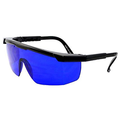 Tianzhiyi Sport im Freien Golfball Glasses Finder Blau getönte Gläser Inklusive Schutzhülle und Reinigungstuch