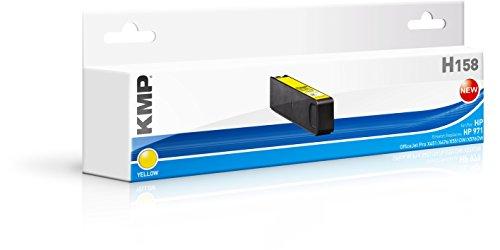 Preisvergleich Produktbild KMP Tintenkartusche für HP OfficeJet Pro X451/X476, H158, yellow