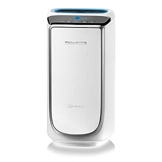 Rowenta Intense Pure Air PU4020F0 Purificador de aire, hasta 60 m² con sensores del nivel de contaminación, 4 niveles de filtración y tecnología NanoCaptur para sustancias contaminantes