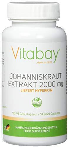 Johanniskraut Extrakt 2000 mg - 90 Vegi Kapseln -