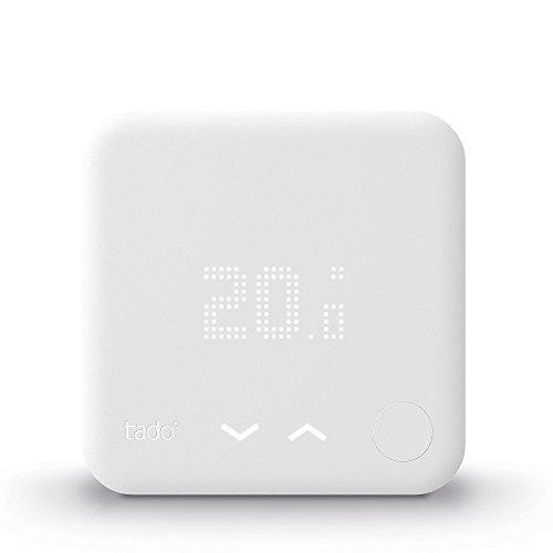 Tado Smartes Thermostat (Zusatzprodukt für Einzelraumsteuerung, intelligente Heizungssteuerung)