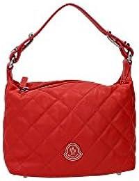 Moncler - Bolso de asas para mujer rojo rojo