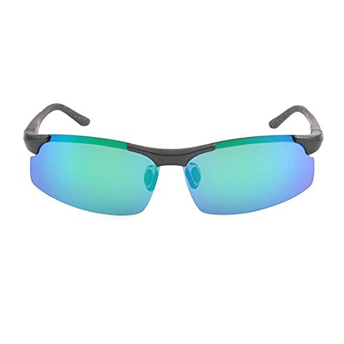 xinzhi Polarized Sonnenbrillen, Polarized Sonnenbrillen Herrenbrillen Nachtsicht Sonnenbrillen Imitation Aluminium Magnesium Sonnenbrillen - Green Film