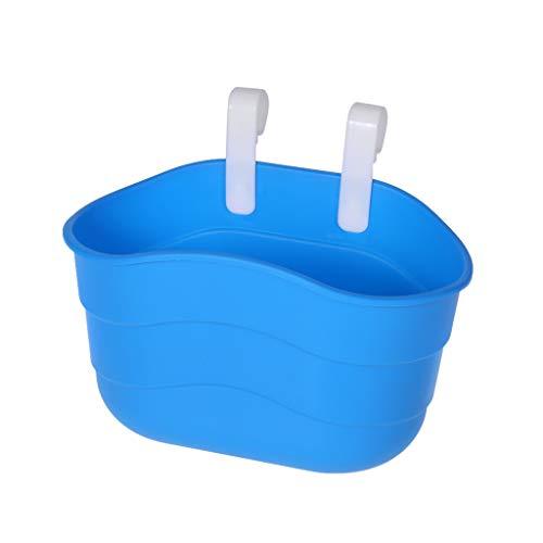 huiouer Hot Kids Kinder-Fahrradkorb für Kinderfahrrad, Vorderlenker, Roller, Satteltasche, Kunststoff, Kinder, blau