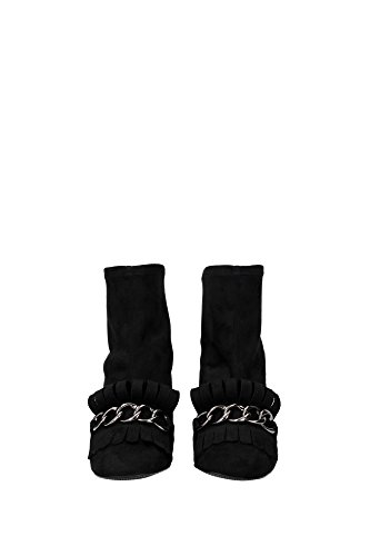 UL37045NOIR Stuart Weitzman Chaussure mi montantes Femme Chamois Noir Noir