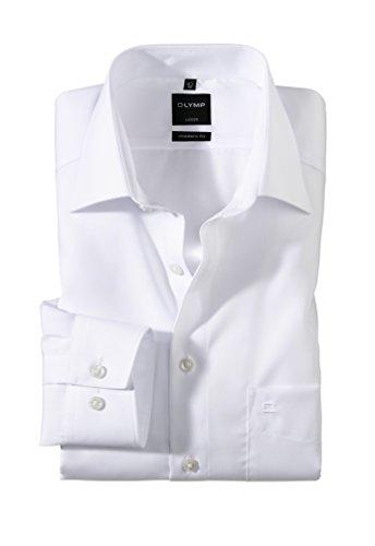 Modern Fit Hemd Langarm m New Kent Kragen 42 [Weiß] -
