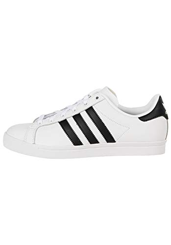adidas Herren Coast Star Gymnastikschuhe, Weiß Core Black/FTWR White, 38 EU -