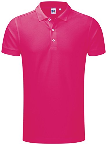 Russell Herren Stretch Polo - 10 Farben / SML - 3XL Classic Red