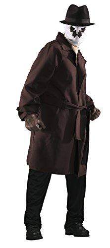 Watchmen Rorschach Kostüm Gr. - Rorschach Kostüm Maske