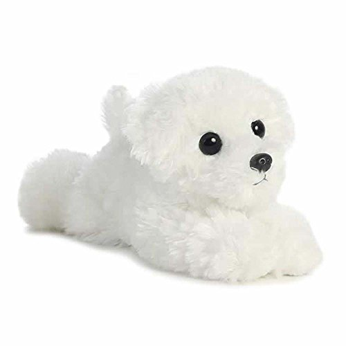 Aurora World Mini Flopsie Snowball Bichon Frise Plush Toy
