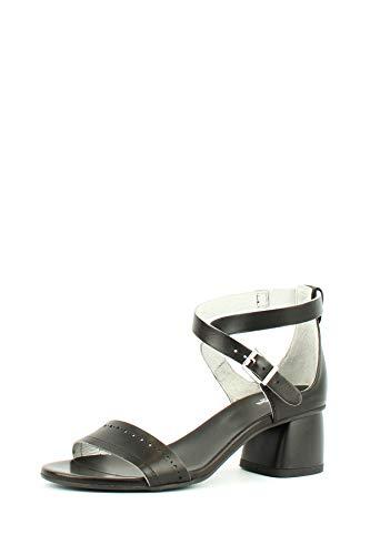 Sandali NeroGiardini P908190-100 908190 Scarpe Donna in Pelle Nera 40