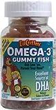 L'il Critters Omega-3, Gummibärchen Fisch, 60 ct.
