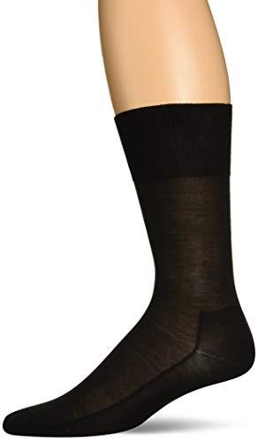 Seide Herren-socken (FALKE Herren No. 4 Reine Seide So Socken, black, 41-42)