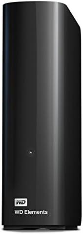 Western Digital 10 TB Elements Desktop externe Festplatte USB3.0 -WDBWLG0100HBK-EESN