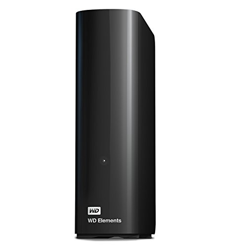 WD - WD Elements Desktop - Disque dur de bureau USB 3.0 - 4 To