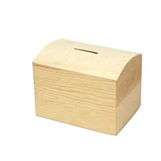 Curved Top Pine Money Box with Removeable Bottom exclusive to Amatola-Kei