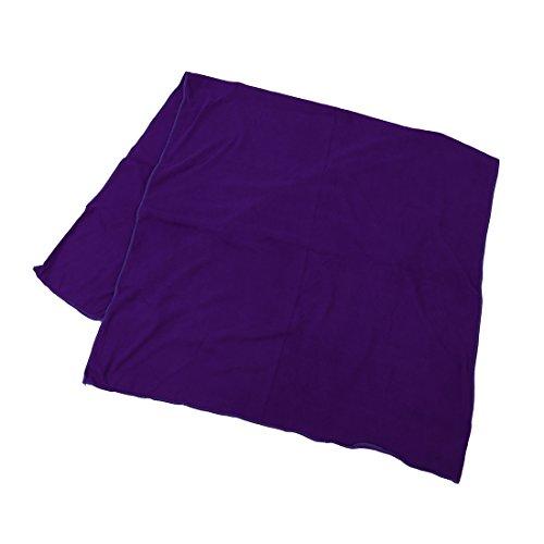 Sodial (r) asciugamano da bagno in microfibra sport viaggi palestra spiaggia fitness nuoto campeggio - viola