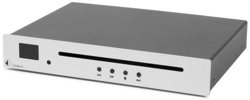 Pro-Ject CD BOX S CD-Player (Standgerät) silber (Projekt Cd-player)