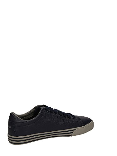 Polo Ralph Lauren chaussures baskets sneakers homme en cuir harvey blu Blu