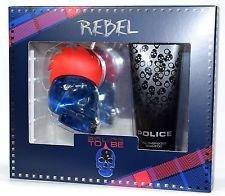 Rebel * Police To Be Gift Set for Men Eu de Toilette Spray 40 ml / Shower Gel 100ml