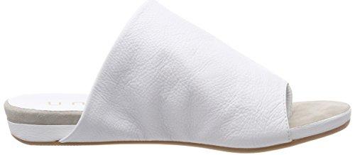 Unisa albite_St, Ciabatte Donna Bianco (White)