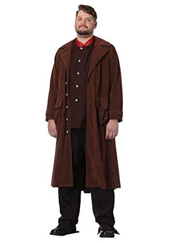 Harry Potter Deluxe Hagrid Plus Size Mens Fancy dress costume ()