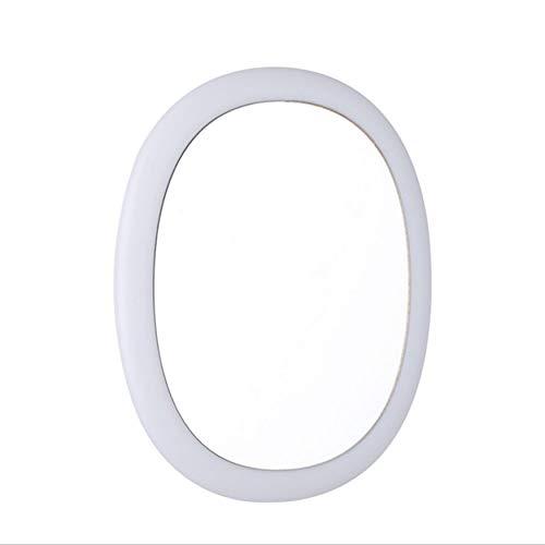 Yaoaofron Taille Portable Ultra Mince Miroir De Recharge De Maquillage Smart Touch Design LED Miroir de Beauté Cosmétique pour Femmes