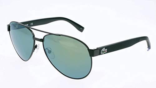 Lacoste Unisex-Erwachsene L185S 315 60 Sonnenbrille, Green Matte,