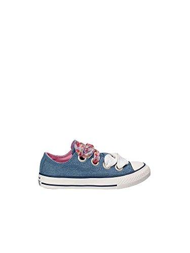 Converse All Star Bambina 660973C Blue White Sneaker Primavera/Estate 35