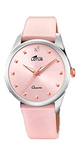 Lotus Trendy Watch Woman Light Pink 35 mm Leather Strap 18642/2