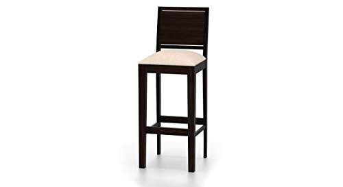 Urban Ladder Oribi Bar Stool (Mahogany)