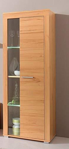 8-4-4-1510: made in BRD – schöne Anbauwand – Kernbuche dek. – Wohnzimmerschrank – TV-Wohnwand – Wohnschrank - 4