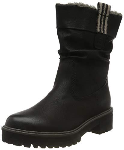 Tamaris Damen 1-1-26433-23 Hohe Stiefel, Schwarz (Black 1), 39 EU