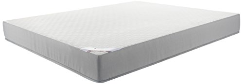 Solimo 6-inch Queen Memory Foam Mattress (White, 78x60x6 Inches)
